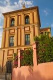 Corner of San Telmo palace at sunset. Sevilla Royalty Free Stock Images