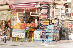 Corner shop Stock Photo