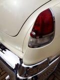 Corner shot of a car. Rear corner shot of an oldtimer Stock Image