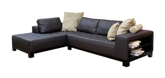 Corner sofa Stock Photography