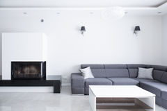 Corner sofa Stock Photography