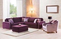 Sensational Corner Sofa Set For Home Stock Photo Image Of Cushioned Pabps2019 Chair Design Images Pabps2019Com