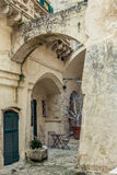 Corner in the streets of Italy Stock Photo