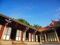 Corner of Taipei Confucius Temple royalty free stock photo