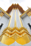 Corner of Thai Architecture. In The Trimit Witthayaram Temple royalty free stock photo