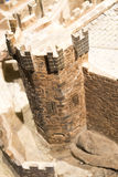 Corner tower at Castle of Xavier Royalty Free Stock Photography