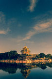 Corner Tower of Forbidden City Stock Images