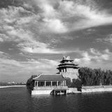 Corner Tower of Forbidden City Royalty Free Stock Photos