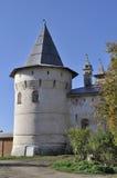 Corner tower of Kremlin in Rostov, Russia Royalty Free Stock Images