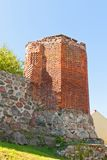 Corner tower of Sztum castle (1335), Poland Royalty Free Stock Photography