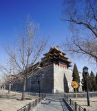 Corner turret at beijing forbidden city Royalty Free Stock Photography
