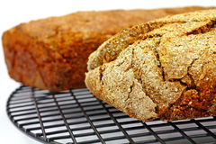 Corner View of Bread Loaves Stock Photography