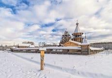 The corner view of Pokrovskaya church. Stock Images