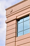 Corner window detail of an office building Royalty Free Stock Photos