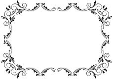 Corners and borders. Elegant page decorations Royalty Free Stock Images