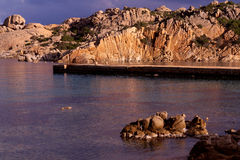 Corners of the island of the maddalena Stock Photo