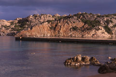 Corners of the island of the maddalena Stock Photography