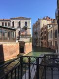 Corners of  Venice - Venetian architecture and landscapes Royalty Free Stock Photos