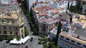 Corners. In worldn Corner in Sevilla, Spain stock photography