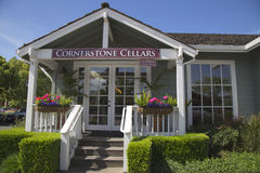 Cornerstone Cellars in Yountville, Napa Valley Royalty Free Stock Image