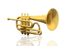 Cornet Royalty Free Stock Images