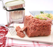 Cornet beef Stock Image