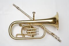 Cornet end flutes Royalty Free Stock Photography