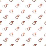 Cornet pattern seamless Royalty Free Stock Image