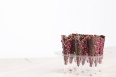 Cornette del cioccolato Fotografia Stock