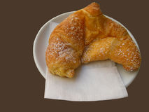 Cornetto pastry Stock Image