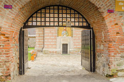 Cornetu Monastery entrance Royalty Free Stock Photography