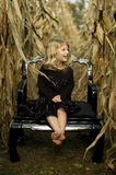 Cornfield Girl Royalty Free Stock Image