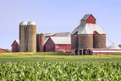 Free Cornfield, Silos, And Barns Stock Photography - 97257712