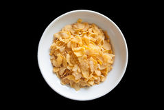 Cornflake breakfast Stock Images