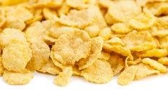 Cornflake de céréale Photographie stock