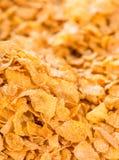 cornflakes принципиальной схемы завтрака предпосылки здоровые Стоковое Фото