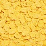 cornflakes принципиальной схемы завтрака предпосылки здоровые Стоковые Изображения RF
