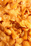 Cornflakes background Royalty Free Stock Images