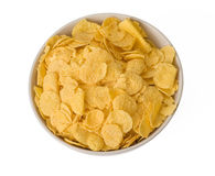 Cornflakes in bowl Stock Images