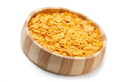 Cornflakes in bowl stock photos