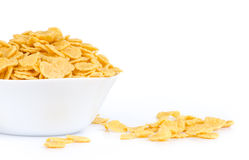 Cornflakes in a bowl Stock Images