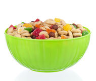 Cornflakes in bowl Royalty Free Stock Photos