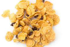 Cornflakes and caramel Royalty Free Stock Images