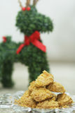 Cornflakes cereal cookies Royalty Free Stock Photos