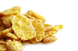 Cornflakes close-up Royalty Free Stock Images