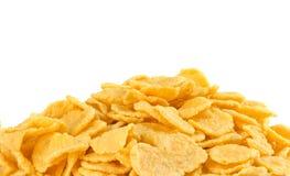Cornflakes closeup stock photo