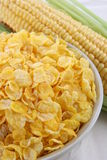 Cornflakes and cob Stock Photography