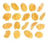 Cornflakes isolated on white background. Stock Image