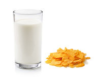 Cornflakes and milk Stock Photography