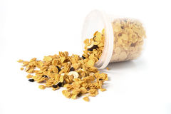 Cornflakes snack Royalty Free Stock Images